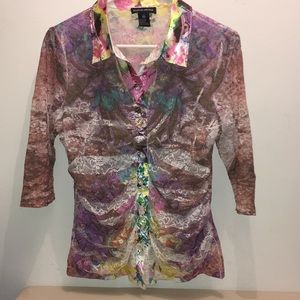 Pretty Lace Boston Proper Blouse